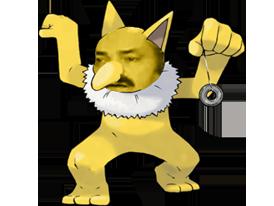 Sticker risitas pokemon hypnomade psychologue