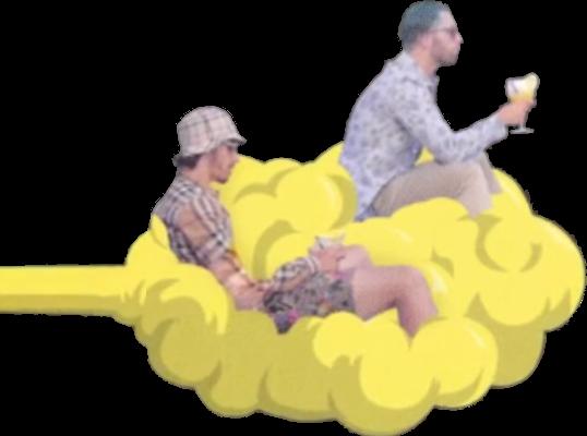 Sticker pnl nuage nos ademo qlf sirop siropsirop siropalafraise