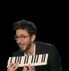 Sticker kemar piano