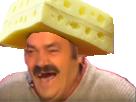Sticker suisse fromage gruyere chapeau