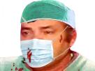 Sticker medecin chirurgien hopital docteur operation masque sang