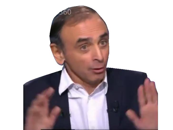 Sticker eric zemour zemmour politique non tranquille costard oklm pas ok