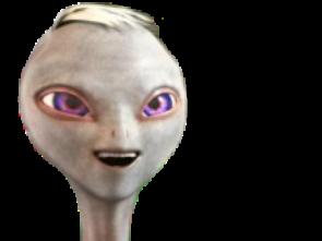 Sticker jul lovni ovni alien