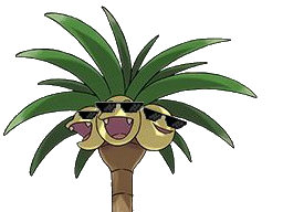 Sticker pokemon soleil lune noadkoko lunette de soleil thug lds alola