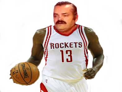 Sticker rockets nba basket