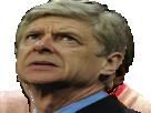 Sticker arsene wenger ff football arsenal