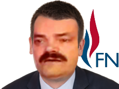 Sticker risitas florian philippot phillipot fn front national politique petit bras faceswap