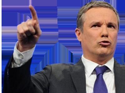 Sticker dupont aignan 2017 presidentielle