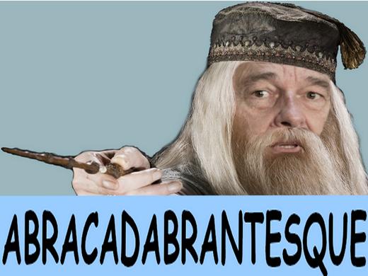 Sticker chirac dumbledore magicien sorcier vieux president doigt harry potter main sort pouvoir baguette magie mage abracadabra