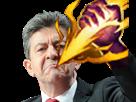 Sticker league of legends lol jungler smite sort magie melenchon force explosion eclair