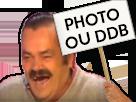 Sticker panneau photo ou ddb