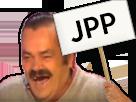 Sticker panneau jpp rire
