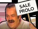 Sticker panneau sale prolo