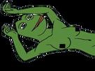 Sticker pepe the frog nue boobs seins censure allonge