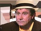 Sticker jesus quintero chapeau