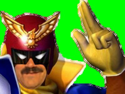 Sticker rsistas rire f zero captain falcon course voiture casque masque hero f1 combat depart champion pistolet ddb batman jeu