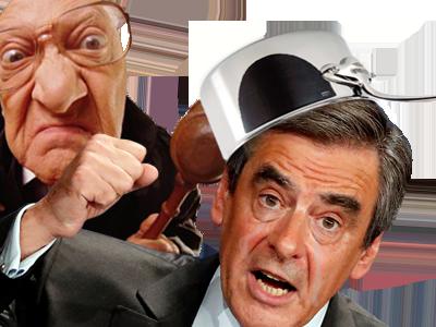Sticker fillon juge defaite casserole politique
