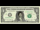 Sticker dollar usd usa etats unis united states billet bifton argent fric pognon monnaie money bucks cash