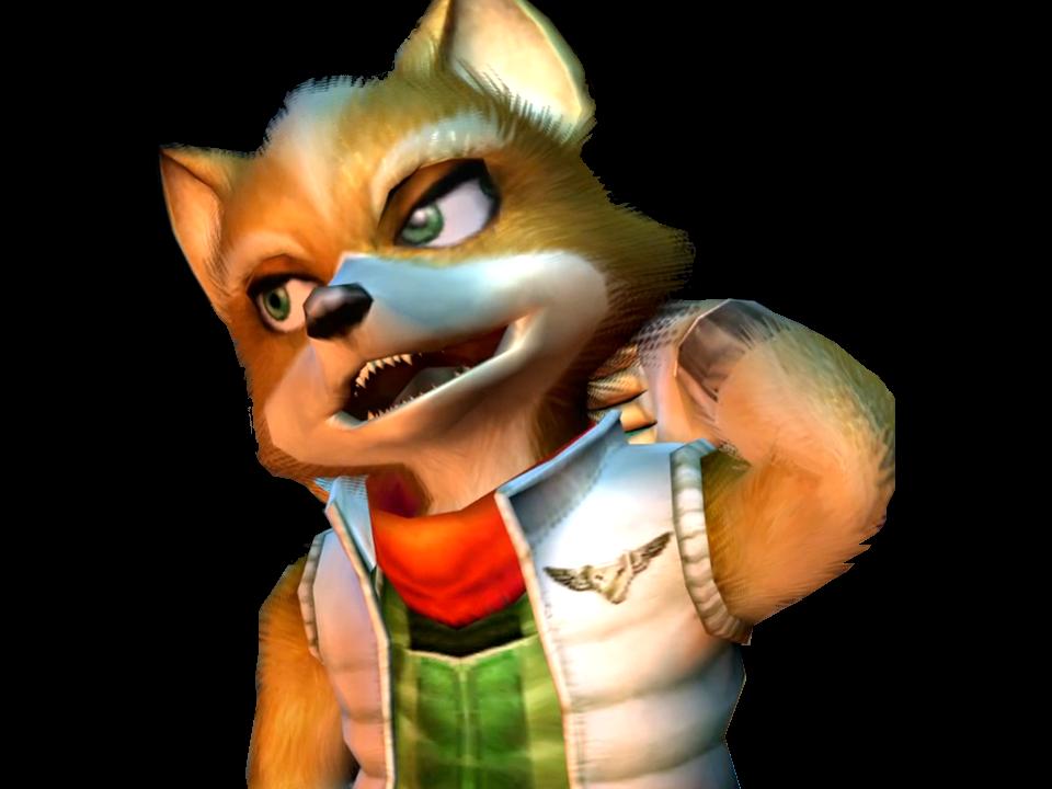 Sticker starfox fox mccloud adventures bras embarasse gene malaise timide desole renard furry tinnova