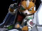Sticker other starfox fox mc cloud zero wii u salut okay pas de probleme ras bien main vaisseau pilote renard furry
