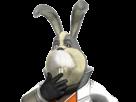 Sticker other starfox peppy hare assault gamecube gc pense perplexe reflechit reflexion lapin lievre furry