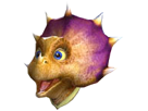 Sticker other starfox tricky adventures assault content heureux happy youpi dinosaure earthwalker enfant adolescent sourire joueur