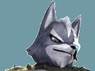 Sticker starfox wolf o donnell assault fier defi rival moqueur sourire combat attaque loup furry viseur detecteur