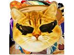 Sticker other twitch tv television stream emote emoticone dxcat