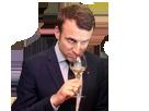 Sticker other president macron degustation de larmes petit bras fn marine lepen