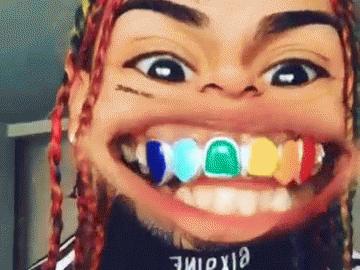 Sticker other 6ix9ine 69 rap rappeur us deforme deformaient
