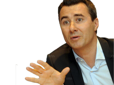Sticker marc keller rcsa racing strasbourg president football doucement stop calme