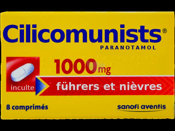 Sticker politic cilicomunists communistes chofa facho sfu avn jvc