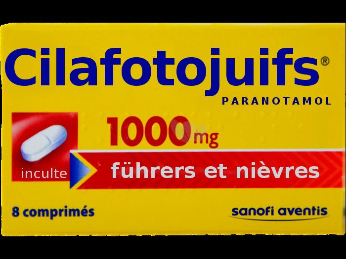 Sticker politic cilafotojuifs la faute aux juifs chofa facho sfu avn jvc