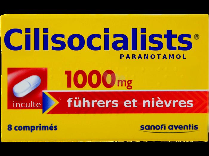 Sticker politic cilisocialists socialistes chofa facho sfu avn jvc