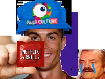 Sticker other ronaldo cr7 pass culture bob 2000 pyj netflix ps4 jeux rsa aah