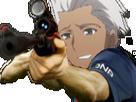 Sticker kikoojap archer sniper deter