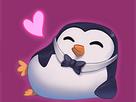 Sticker other pingouin lol league of legend content heureux beau gosse classe