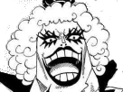 Sticker kikoojap emporio ivankov one piece luffy owen_07 manga eichiro oda gay trans transexuel travesti