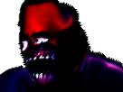 Sticker creepy risitas immondice