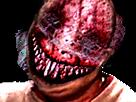 Sticker risitas moche tordu abomination creepy gange omg