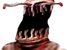 Sticker risitas moche tordu abomination creepy gange omg sheitan abomination monstre
