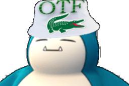 Sticker jvc ronflex pokemon pnl qlf otf paz paix igo