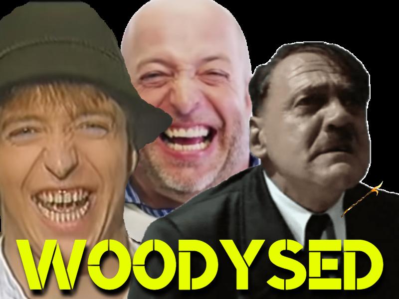 Sticker risitas die woodys viole hitler adophe fichtls lied allemand allemand deutch land deutchlan nazi autiste avenoel allemagne tisonwoodys dents fou malade phychopathe foret gentil