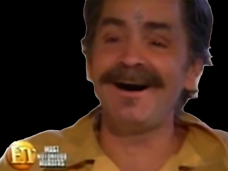 Sticker charles manson risitas rire moustache