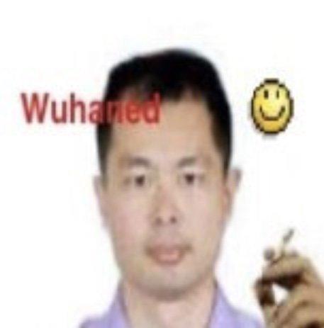 Sticker other wuhan wuhaned virus covid coronavirus confinement chinois fume cigarette kikoojap kj smiley fdp