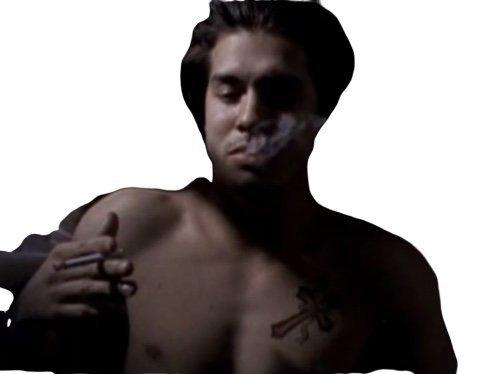 Sticker other geralt le rif le qlf qui fume un zdeh paz sur vous