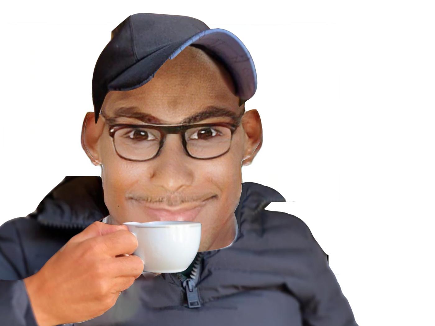 Sticker zizou zinedine zidane ronaldo faceapp cr7 chauve casquette doudoune cristiano tasse sourire rire