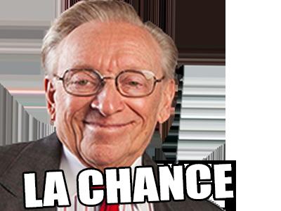Sticker politic larry silverstein la chance sourire