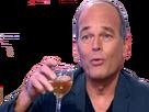 Sticker other laurent baffie verre alcool debat sarcasme ironie doigt television