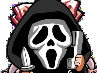 Sticker kikoojap mokou scream